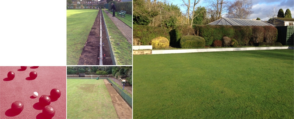 Re-levelling Bowling Green edges